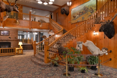 Stage Coach Lobby West Yellowstone
